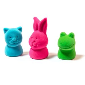 Animal Finger Puppets and Pencil Toppers 3 Pack